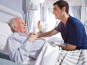When we are old, we need to accept the new product of the electric nursing bed.